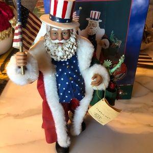 🎅🏻 Musical Patriotic American Santa